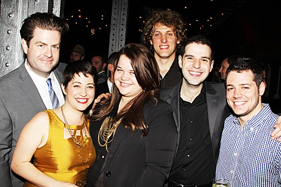 Ghost Opening Night – Paul Wontorek – Gemma Wilson  - Jenny Anderson – Daniel Hubbard – Josh Ferri – Nick Shakra