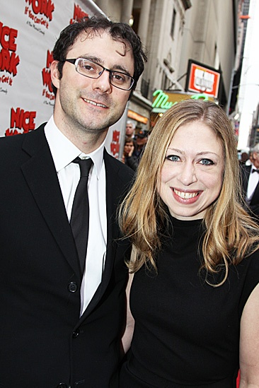 Nice Work If You Can Get It – Opening Night – Marc Mezvinsky - Chelsea Clinton