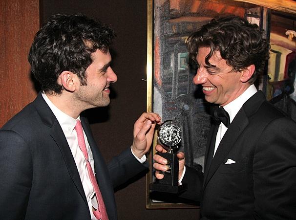 2012 Tony Awards – O&M After Party – Adam Chanler-Berat – Christian Borle