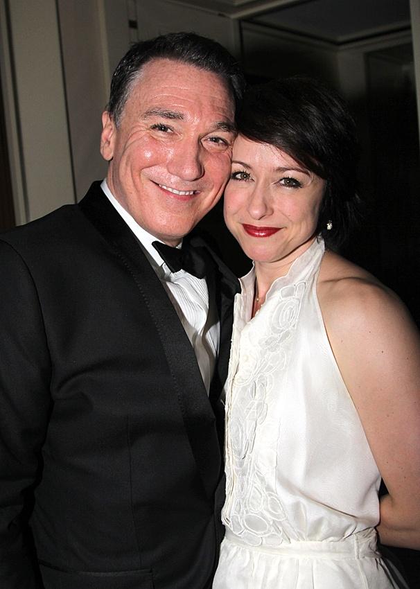 2012 Tony Awards – O&M After Party – Patrick Page – Paige Davis