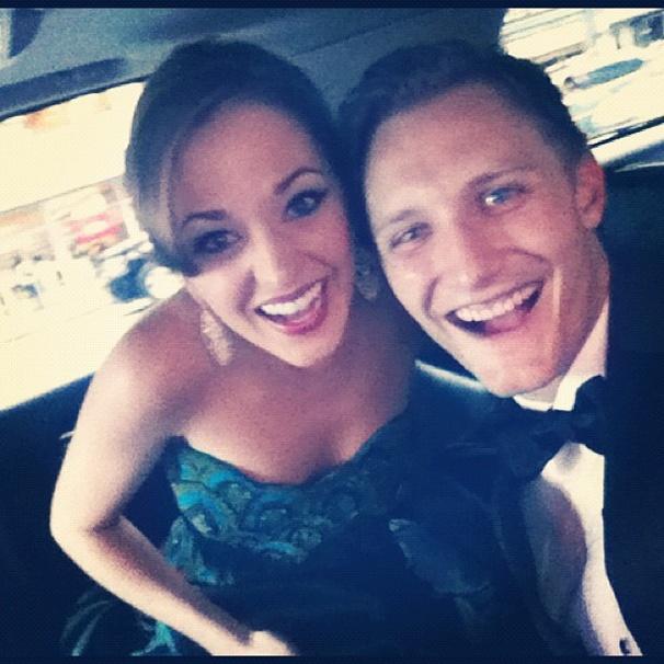 2012 Tony Awards Instagram Snapshots – Laura Osnes –Nathan Johnson
