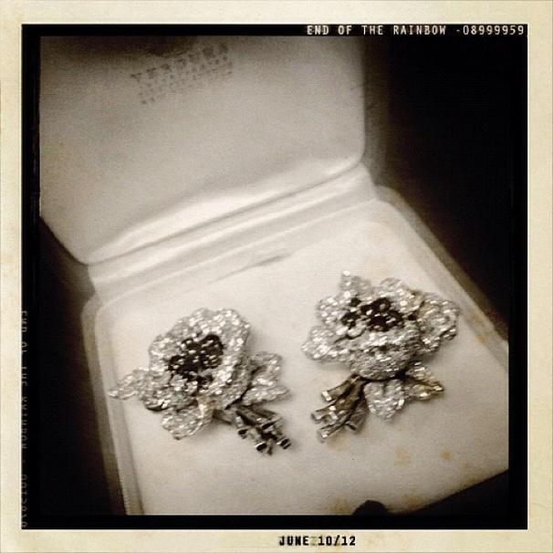2012 Tony Awards Instagram Snapshots – Tracie Bennett Earrings