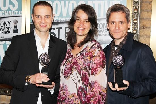 Clybourne Tony Award toast – Jordan Roth – Pam MacKinnon – Bruce Norris