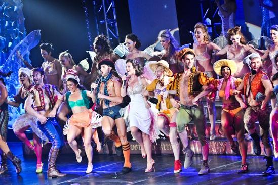 Broadway Bares XXII -Kyle Dean Massey- Miriam Shor- Cast of Broadway Bares XXII