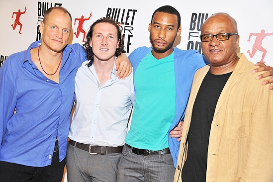 Bullet For Adolf Meet and Greet – Woody Harrelson – Brandon Coffey - Frankie Hyman – Tyler Jacob Rollinson