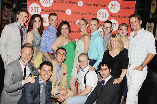 Dogfight Opening Night – the cast and creators of Dogfight