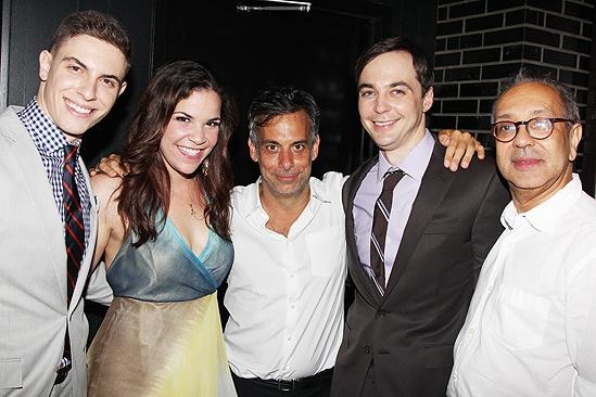 Dogfight Opening Night – Derek Klena – Lindsay Mendez – Joe Mantello – Jim Parsons – George C. Wolfe