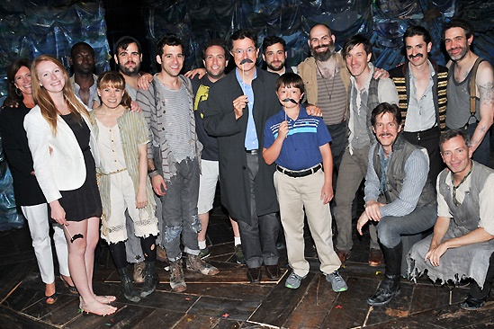 Stephen Colbert at Starcatcher – Madeline Colbert - Evelyn McGee - Stephen Colbert - The Cast of Peter and the Starcatcher