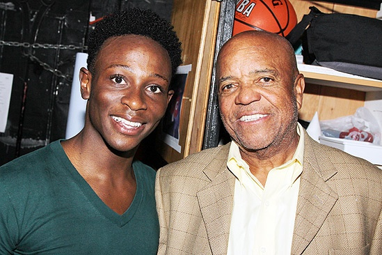 Berry Gordy and LMFAO at 'Bring It On' – Berry Gordy – Gregory Haney