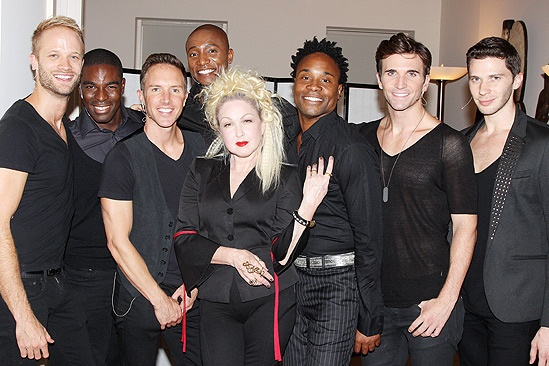Kinky Boots- Fashion's Night Out- Kyle Post- Kyle Taylor Parker- Paul Canaan-Kevin Smith Kirwood- Cyndi Lauper- Billy Porter- Charlie Sutton- Joey Taranto