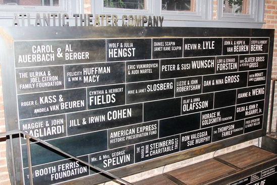 Atlantic Theater Company Reopening- Wall of Lights