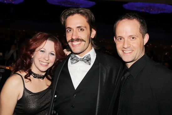 'Mystery of Edwin Drood' Opening Night — Kirsten Wyatt — Eric Sciotto — David Eggers