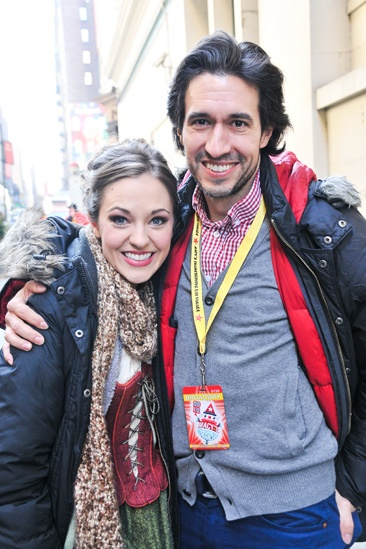 Cinderella at Macy's Parade - Laura Osnes - Josh Rhodes