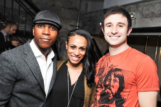 Caissie Levy Album Release- Leslie Odom, Jr - Nicolette Robinson -David Are