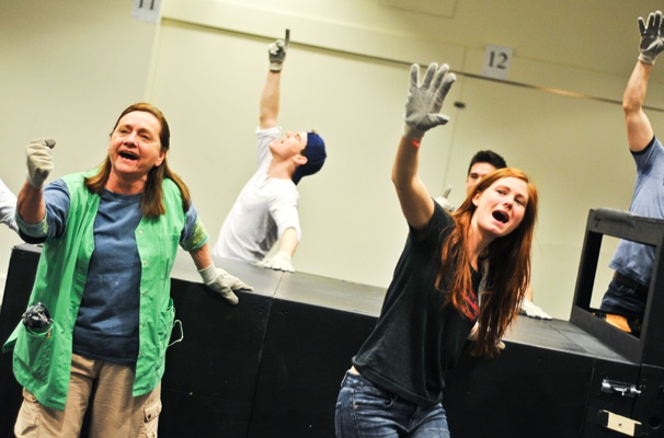 Hands on a Hardbody – Rehearsal – Dale Soules - Jay Armstrong Johnson – Allison Case
