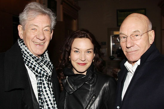 'Breakfast at Tiffany's' Opening — Ian McKellen — Sunny Ozell — Patrick Stewart