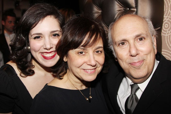 'Breakfast at Tiffany's' Opening — Lee Wilkof and family