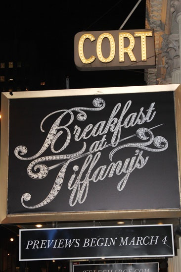 'Breakfast at Tiffany's' Opening — Marquee