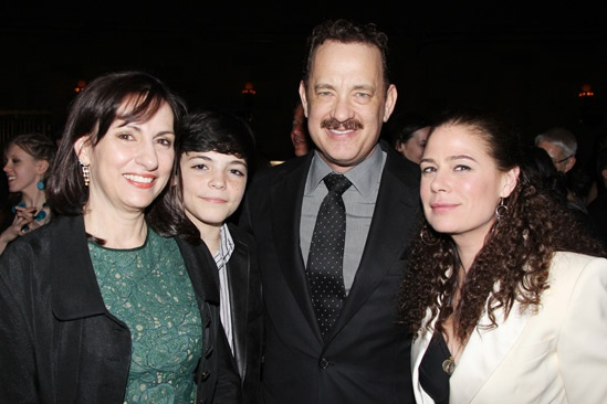 'Lucky Guy' Opening — Alice McAlary — Quinn McAlary — Tom Hanks — Maura Tierney