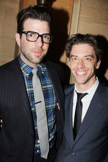 Kinky Boots Opening- Zachary Quinto- Christian Borle