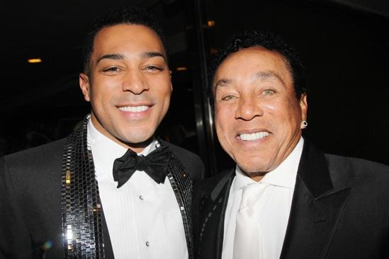 'Motown' Opening Night — Charl Brown — Smokey Robinson
