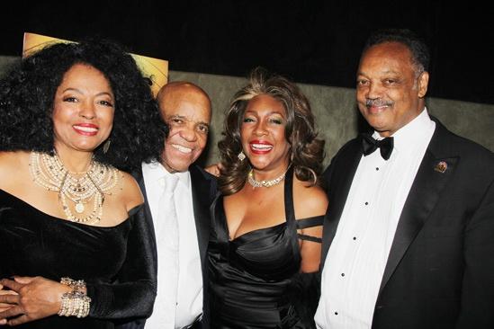 'Motown' Opening Night — Diana Ross — Berry Gordy — Mary Wilson — Jesse Jackson
