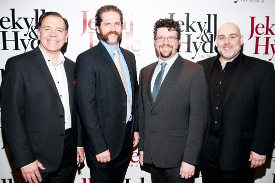 Jekyll & Hyde- Jerry Christakos– Aaron Ramey- Stephen Mitchell Brown- David Benoit