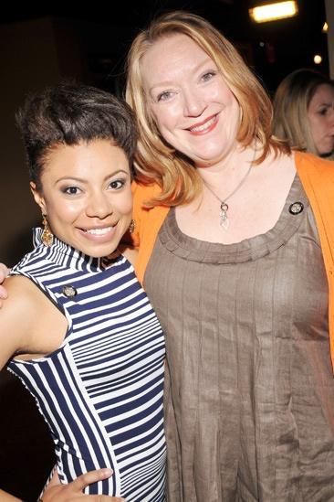 2013 Tony Nominee Brunch — Shalita Grant — Kristine Nielsen