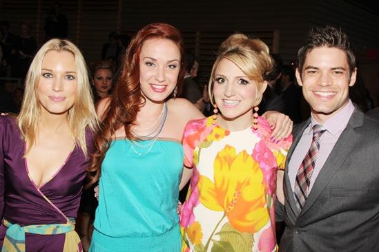 2013 Audience Choice Awards- Imogen Lloyd Webber- Sierra Boggess- Annaleigh Ashford- Jeremy Jordan