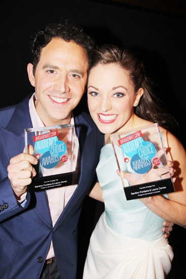 2013 Audience Choice Awards- Santino Fontana – Laura Osnes