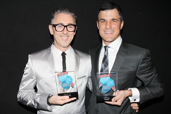 2013 Audience Choice Awards- Alan Cumming- Ken Davenport