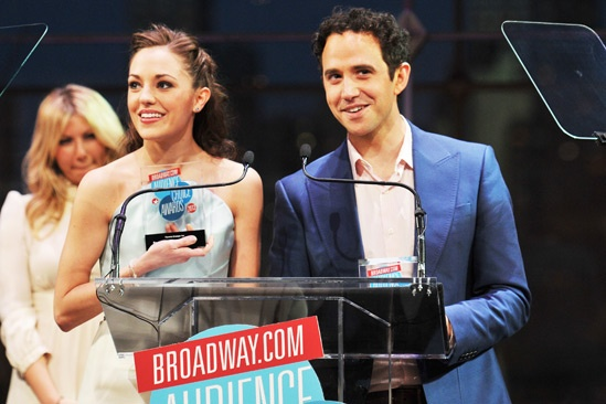 2013 Audience Choice Awards Ceremony — Laura Osnes — Santino Fontana