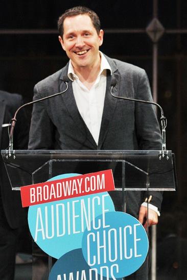 2013 Audience Choice Awards Ceremony — Bertie Carvel