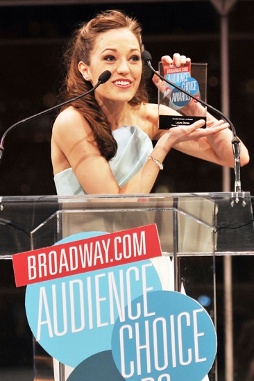 2013 Audience Choice Awards Ceremony — Laura Osnes
