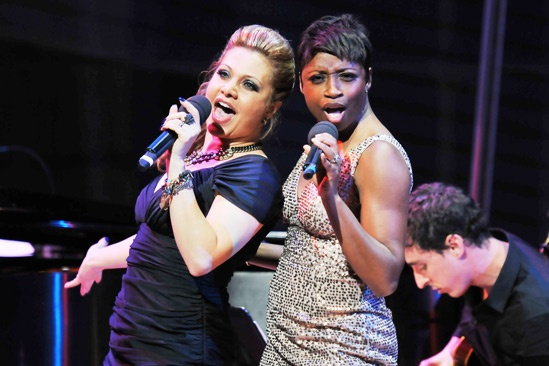 2013 Audience Choice Awards Ceremony — Orfeh — Montego Glover