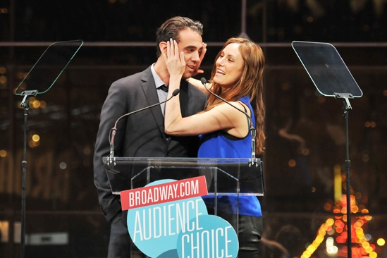 2013 Audience Choice Awards Ceremony — Bobby Cannavale — Laura Benanti
