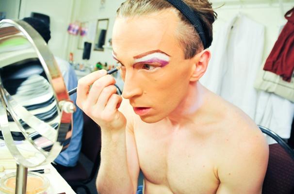 Kinky Boots Backstage- Stephen Carrasco