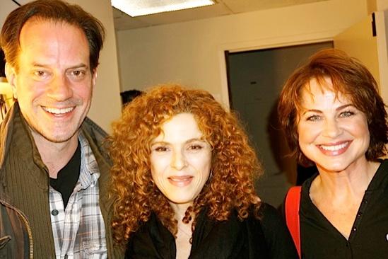 Courtney B. Vance Backstage at 'Lucky Guy' — Danny Mastrogiorgio — Bernadette Peters — Deirdre Lovejoy