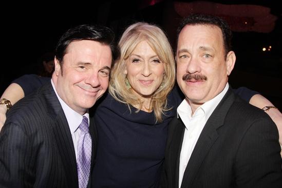2013 Drama League Awards Luncheon — Nathan Lane — Judith Light — Tom Hanks