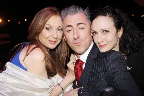 2013 Drama League Awards Luncheon — Donna Murphy — Alan Cumming — Bebe Neuwirth