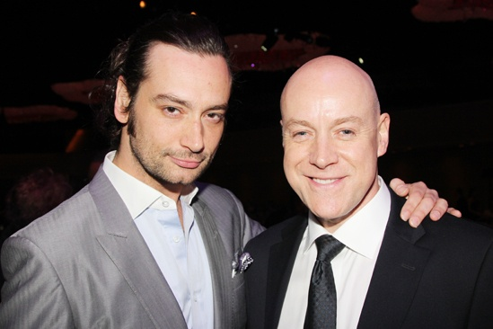 2013 Drama League Awards Luncheon — Constantine Maroulis — Anthony Warlow