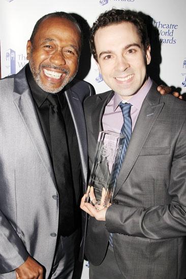 2013 Theatre World Awards — Ben Vereen — Rob McClure