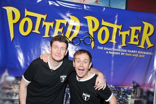 Potted Potter - Opening Night - Daniel Clarkson - Jefferson Turner