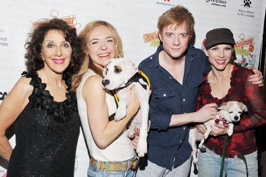 Broadway Barks 2013 — Andrea Martin — Rachel Bay Jones — Matthew James Thomas — Charlotte d'Amboise