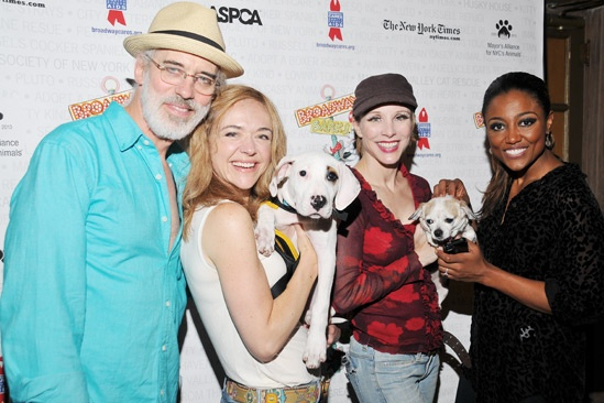 Broadway Barks 2013 — Terrence Mann — Rachel Bay Jones — Charlotte d'Amboise — Patina Miller