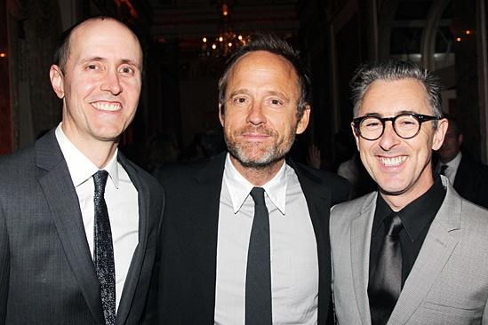 American Theatre Wing – Hal Prince Gala 2013 – Grant Shaffer - John Benjamin Hickey – Alan Cumming