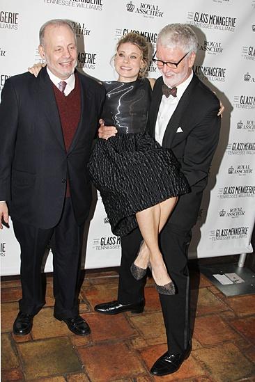 'The Glass Menagerie' Opening — Jeffrey Richards — Celia Keenan-Bolger — John N. Hart Jr.