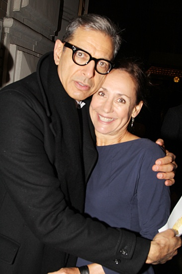 'The Glass Menagerie' Opening — Jeff Goldblum — Laurie Metcalf