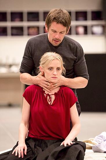 Macbeth – Rehearsal Photos – Ethan Hawke – Anne-Marie Duff