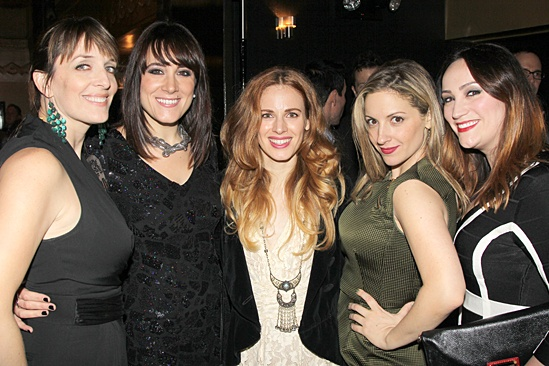 Wicked- Julia Murney- Dee Roscioli- Teal Wicks- Donna Vivino- Eden Espinosa